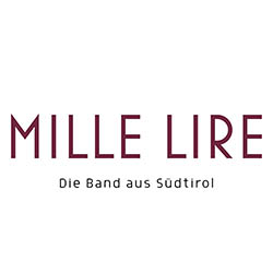 Mille Lire Logo white red 250
